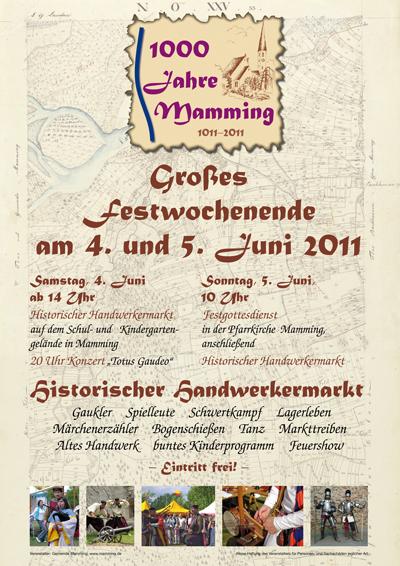 1000-Jahr-Feier-Poster
